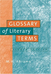 M.H. Abrams: A Glossary of Literary Terms