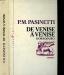 P.M. PASINETTI: De Venise à Venise Dorsoduro