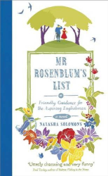 Natasha Solomons: Mr. Rosenblum's List