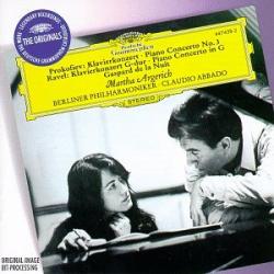 Ravel - Concerto en sol / Prokofiev - Concerto pour piano n°3: Martha Argerich - C. Abbado - Philarmonique de Berlin