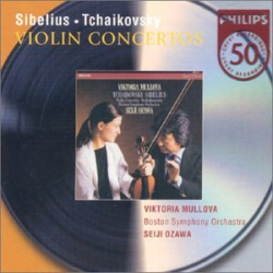 Sibelius - Tchaikoski - Concertos pour violon: Victoria Mullova - Seiji Ozawa - Boston Symphonic Orchestra