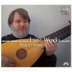 Bach - Pièces pour Luth: Paul O'Dette - Label Harmonia Mundi