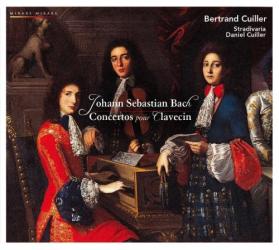 Bach JS - Concertos Pour Clavecin Bwv1052, 1055, 1056 & 1058: Ensemble Stradivaria - Direction Daniel Cuiller - Clavecin, Betrand Cuilller