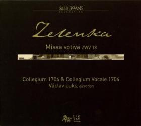 Zelenka: Missa Votiva ZWV 18: Collegium 1704 & Collegium Vocale 1704 - Direction Vaclav Luks