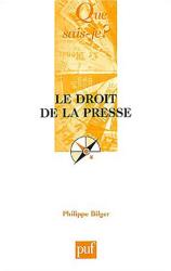 : Le Droit de la presse