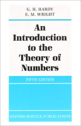 G. H. Hardy, E.M. Wright: An Introduction to the Theory of Numbers