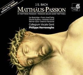 Bach, J.S. (Herreweghe): St. Matthew Passion