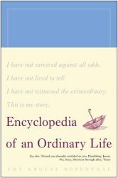 Amy Krouse Rosenthal: Encyclopedia of an Ordinary Life