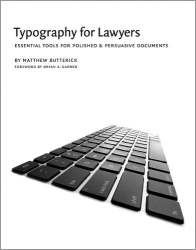 Matthew Butterick: Typography for Lawyers