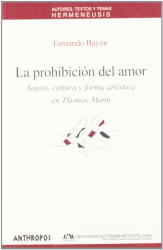Fernando Bayon: PROHIBICION DEL AMOR, LA (Spanish Edition)