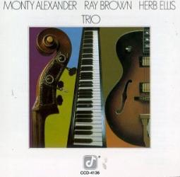 Herb Ellis, Ray Brown, and Monty Alexander -