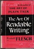 Rudolf Flesch: The Art of Readable Writing