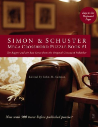 John M. Samson: Simon & Schuster Mega Crossword Puzzle Book #1