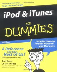 Tony  Bove: iPod & iTunes for Dummies