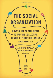 Anthony J. Bradley: The Social Organization: How to Use Social Media to Tap the Collective Genius of Your Customers and Employees
