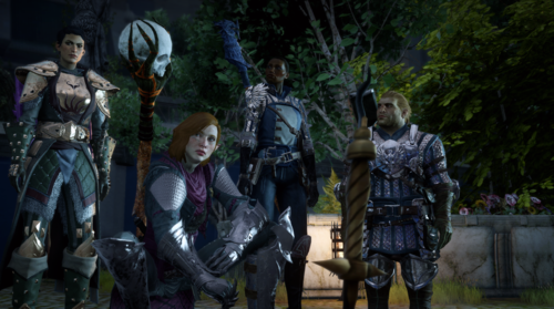 Dragon Age Inquisition Party