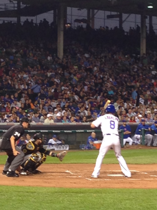 View from Seats at Wrigley