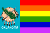 Oklahoma gay flag