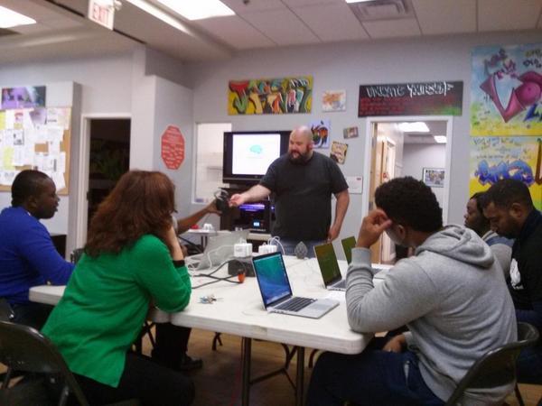 Innovator in Communities program at The Spot