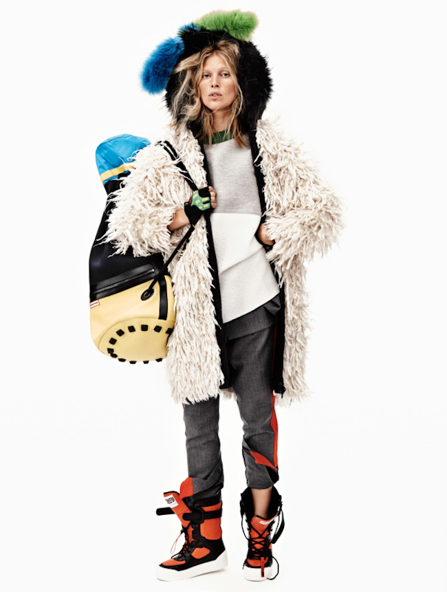 VOGUE UK Iselin Steiro in Animal Magic by Josh Olins. Lucinda Chambers, October 2014, www.imageamplified.com, Image Amplified