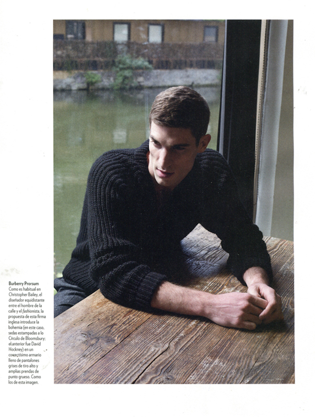 Picture About Male Model Ryan Barrett Shot by Justin Wu for Icon Magazine