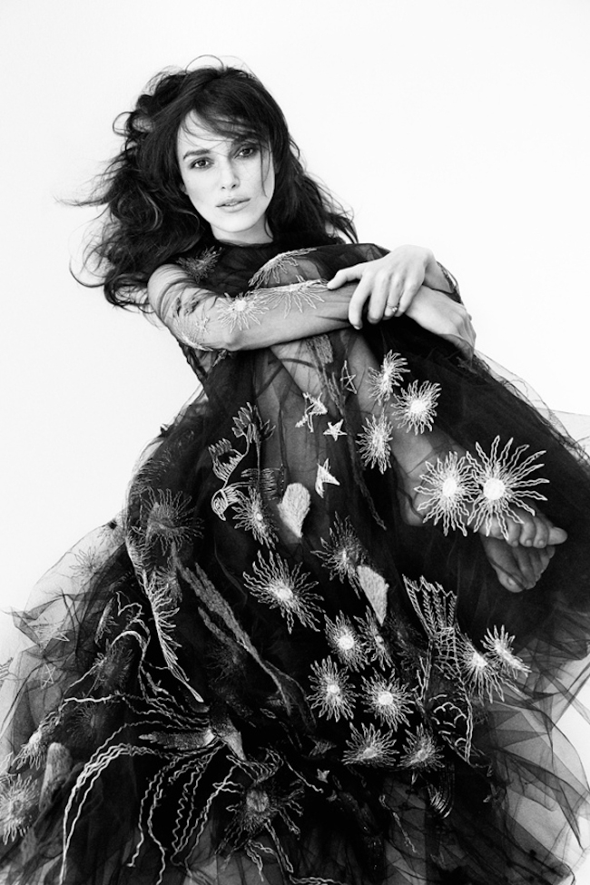 INTERVIEW MAGAZINE Keira Knightley by Patrick Demarchelier. Elin Svahn, September 2014, www.imageamplified.com, Image Amplified