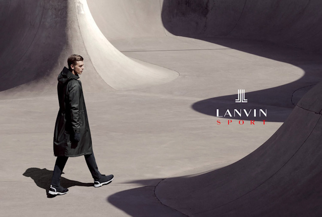 CAMPAIGN Benjamin Eidem for Lanvin Sport Fall 2014 by Gregory Harris. www.imageamplified.com, Image Amplified