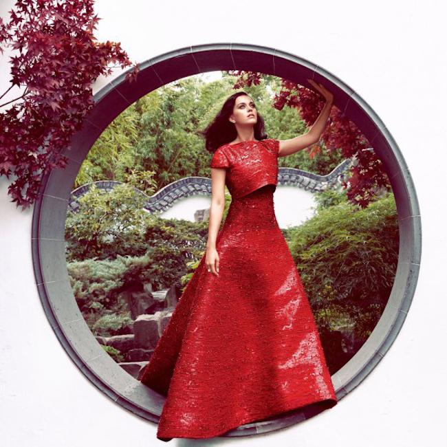 HARPER'S BAZAAR MAGAZINE Katy Perry by Camilla Akrans. Julia von Boehm, October 2014, www.imageamplified.com, Image Amplified