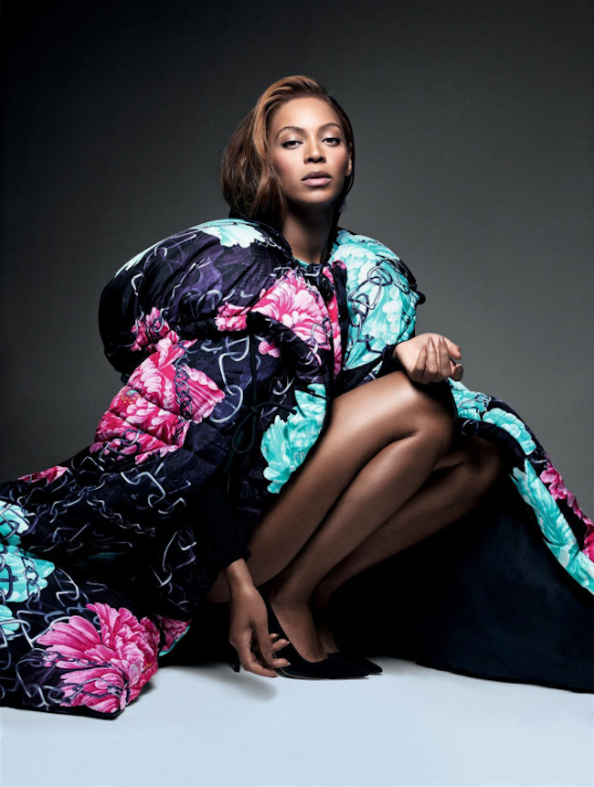 CR FASHION BOOK Beyonce by Pierre Debusschere. Riccardo Tisci, Fall 2014, www.imageamplified.com, Image Amplified