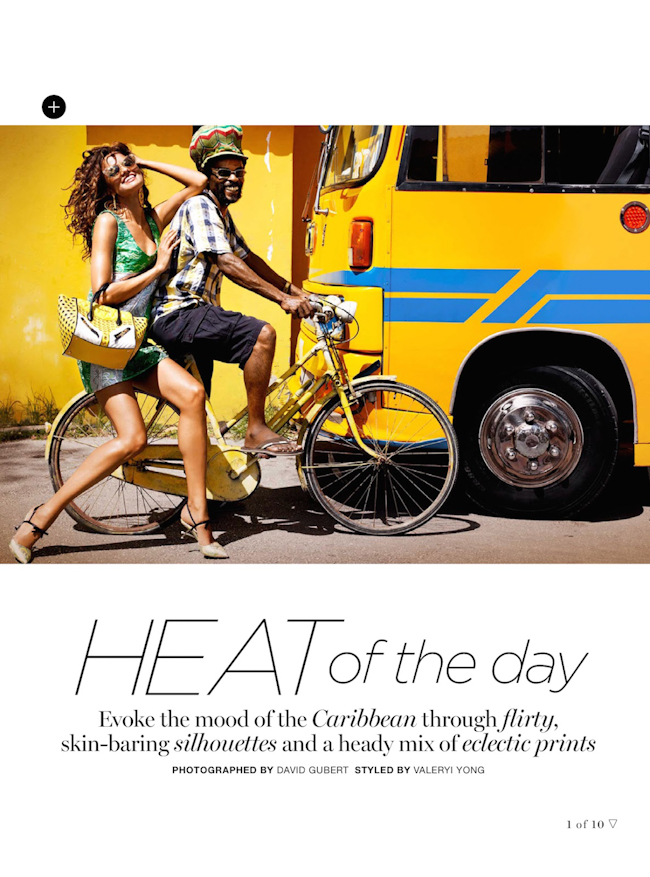 MARIE CLAIRE AUSTRALIA Barbara Fialho in Heat of the Day by David Gubert. Valeryi Yong, October 2014, www.imageamplified.com, Image Amplified