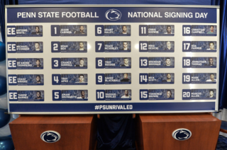 Signing Day board