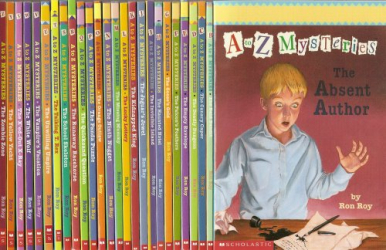Ron Roy: A to Z Mysteries Complete 26-Book Set (The Absent Author, The Bald Bandit, The Canary Caper, The Deadly Dungeon, The Empty Envelope, The Falcon's Feathers, The Goose's Gold, The Haunted Hotel, The Invisible Island, The Jaguar's Jewel, The Kidnapped King,