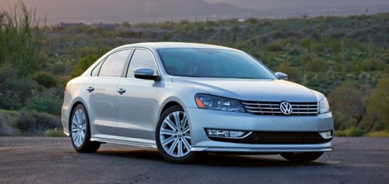 VW publicity photo
