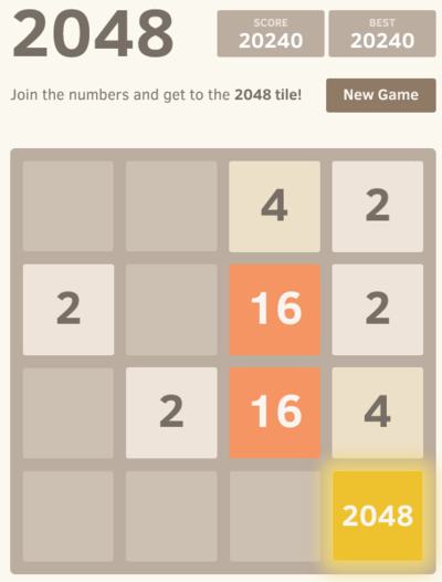 Playing Threes and 2048 with R