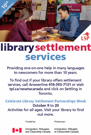 Library Settlement Services