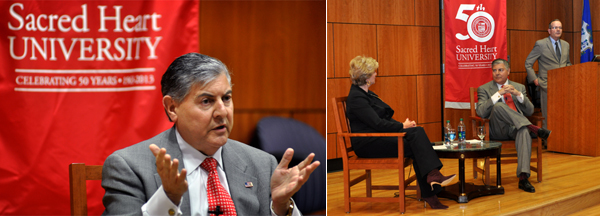 Conversations with Frank Martire and Linda McMahon