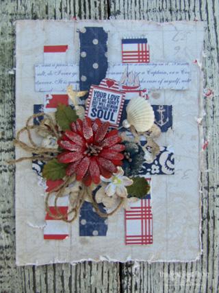 Authentique/Petaloo card by Lynne Forsythe
