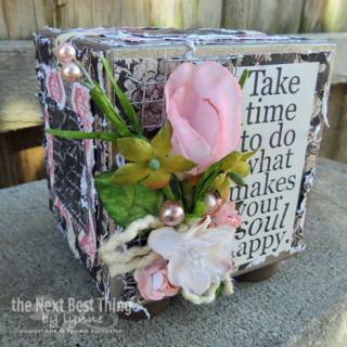 Inspirational Cube by Lynne Forsythe