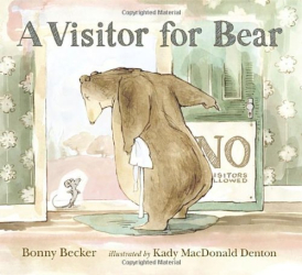 Bonny Becker: A Visitor for Bear (Bear and Mouse)