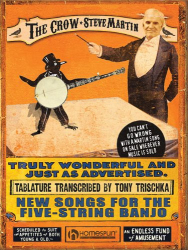 : The Crow: Book of Tablature: New Songs for the Five-String Banjo
