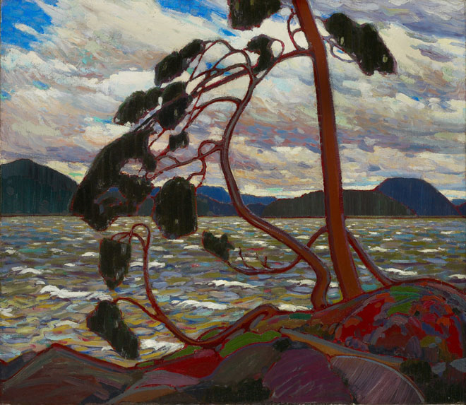 Tom Thomson-The West Wind