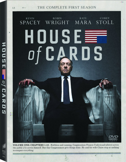 House of Cards DVD Seasons 1 to 4