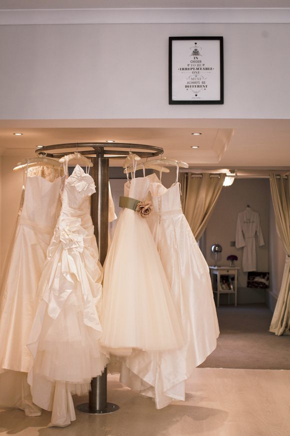 The White Room designer wedding dress boutique in Sheffield, stocking Jenny Packham, Claire Pettibone, Cymbeline and Stephanie Allin...