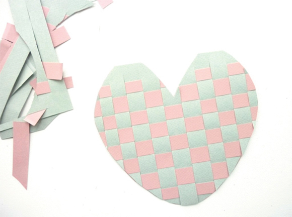 Woven Heart Wedding Fans by Berinmade for Love My Dress Wedding Blog...