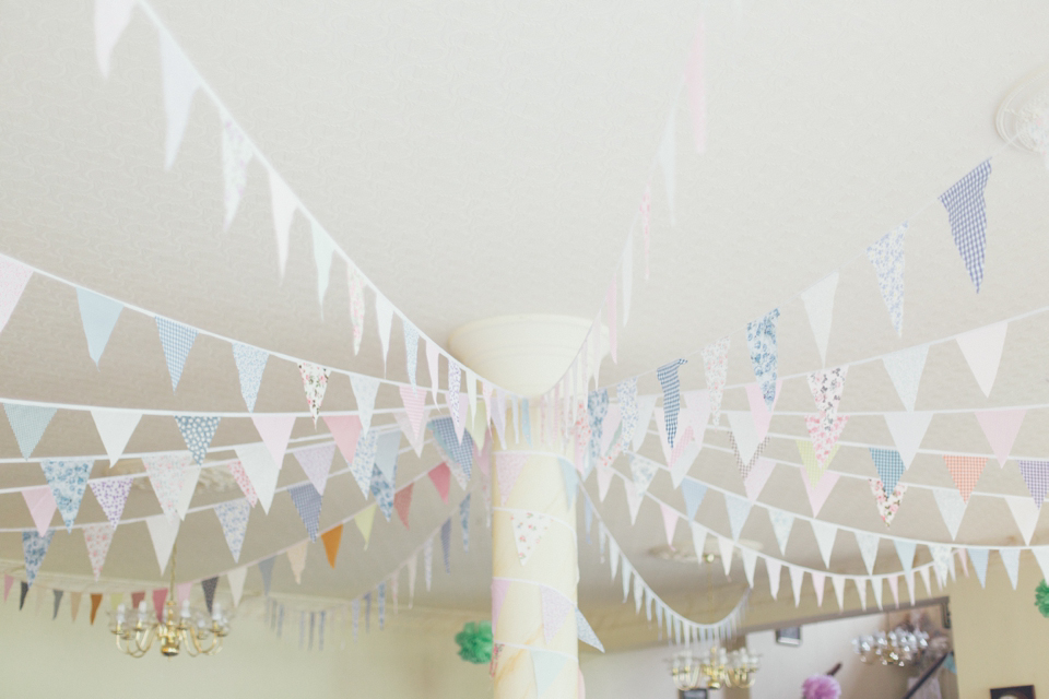 Aspen by Jenny Packham for a sweet village fete wedding