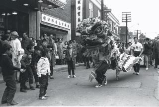 Lion dance York Univ Archive