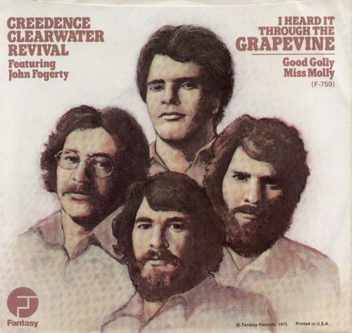 Credence Clearwater Revival - I Heard It Through The Grapevine (versión 45)