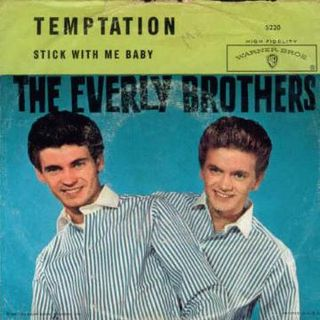 The Everly Brothes - Stick With Me Baby (Primera Versión)