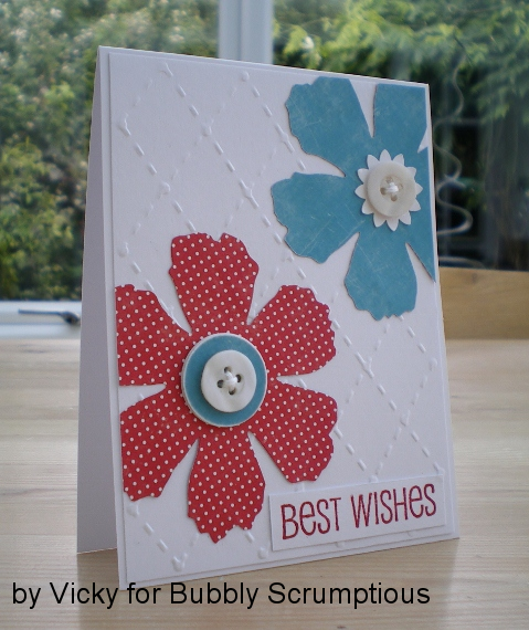 Tattered Florals Card