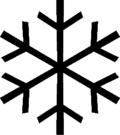Snowflake-black